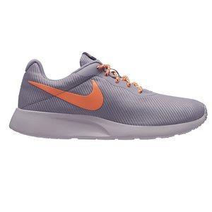 Women's Nike Tanjun Sneaker provence purple/orange